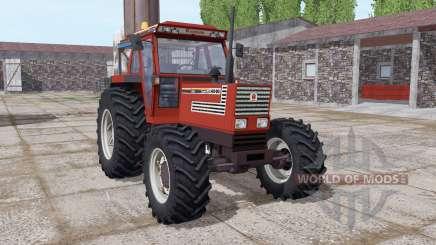 Fiatagri 140-90 Turbo DT dark red для Farming Simulator 2017