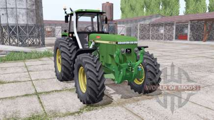 John Deere 4960 green для Farming Simulator 2017