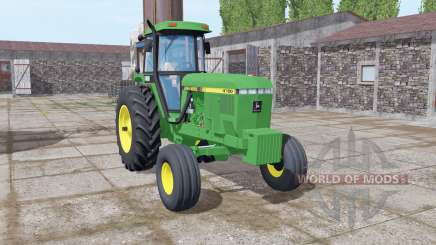 John Deere 4760 green для Farming Simulator 2017
