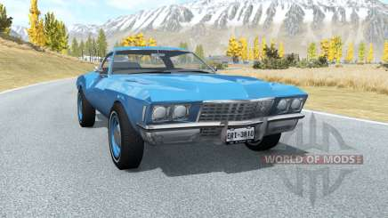 Buick Riviera (49487) 1971 lifted для BeamNG Drive