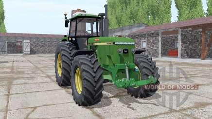 John Deere 4955 green для Farming Simulator 2017