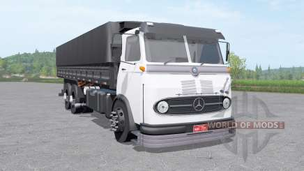 Mercedes-Benz LP 321 3-axle v1.1 для Farming Simulator 2017