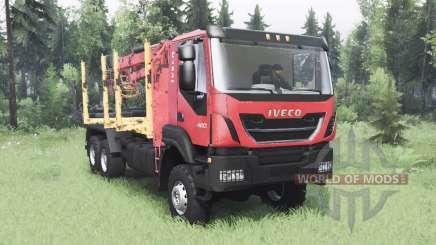 Iveco Trakker 420 для Spin Tires