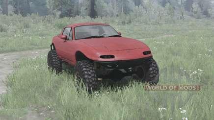 Mazda MX-5 off-road для MudRunner