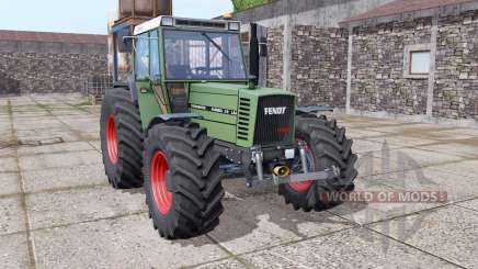 Fendt Farmer 310 LSA Turbomatik wide tyre для Farming Simulator 2017