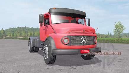 Mercedes-Benz L 1519 4x4 для Farming Simulator 2017