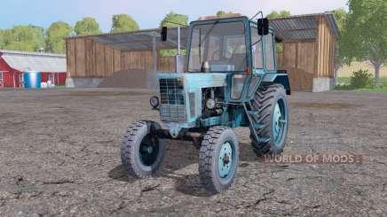 МТЗ 80 Беларус мягко-синий для Farming Simulator 2015