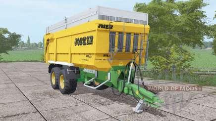 JOSKIN Trans-Space 7000-27 yellow для Farming Simulator 2017