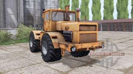 Кировец К-700А оранжевый для Farming Simulator 2017