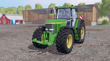 John Deere 7810 twin wheels для Farming Simulator 2015