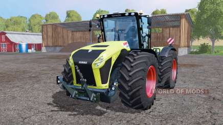 CLAAS Xerion 4500 twin wheels для Farming Simulator 2015