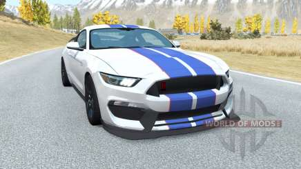 Shelby GT350R Mustang v2.0 для BeamNG Drive