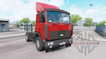 МАЗ 54323 v1.33 для Euro Truck Simulator 2