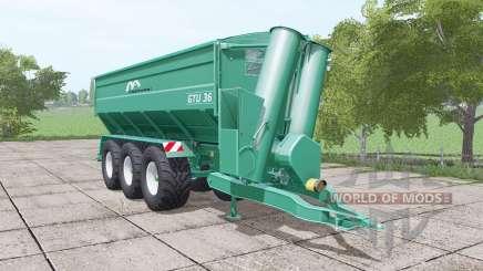Gustrower GTU 36 для Farming Simulator 2017