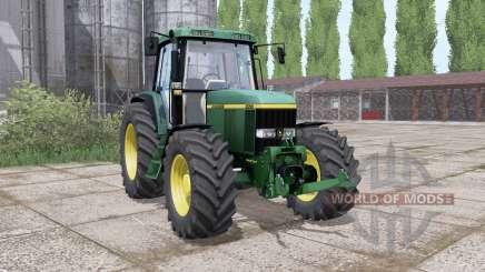 John Deere 6810 dual rear для Farming Simulator 2017
