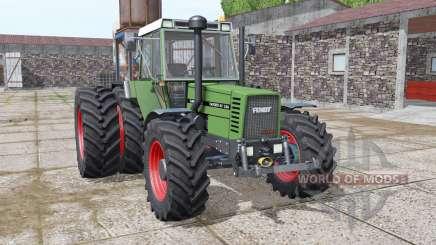 Fendt Favorit 611 LSA Turbomatik E dynamic hoses для Farming Simulator 2017