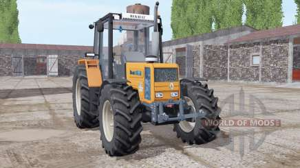 Renault 103-54 soft orange для Farming Simulator 2017