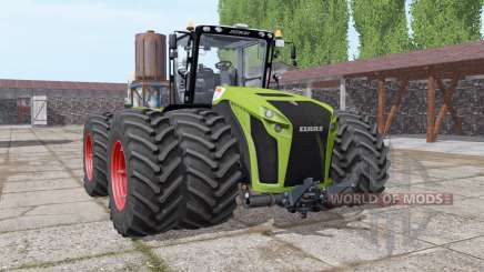 CLAAS Xerion 5000 twin wheels для Farming Simulator 2017