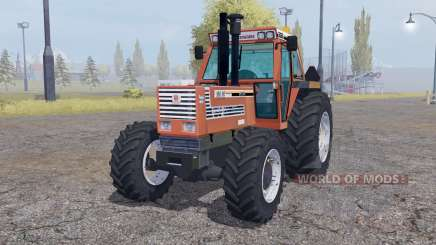 Fiatagri 180-90 Turbo DT dual rear для Farming Simulator 2013