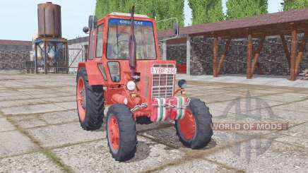 МТЗ 82 Беларус мягко-красный для Farming Simulator 2017