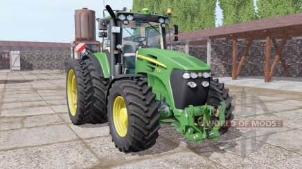 John Deere 7830 dual rear для Farming Simulator 2017