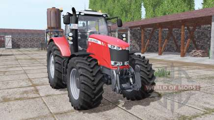 Massey Ferguson 7726 wheels with weights для Farming Simulator 2017