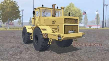 Кировец К-700А жёлтый для Farming Simulator 2013