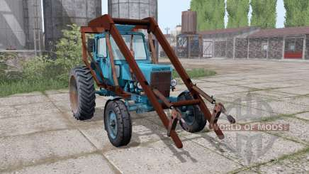 МТЗ 80 Беларус 4x4 стогомёт для Farming Simulator 2017