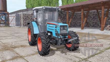 Eicher 2090 Turbo soft cyan для Farming Simulator 2017