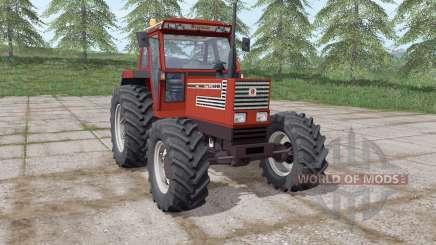 Fiatagri 140-90 Turbo DT dаrk red для Farming Simulator 2017