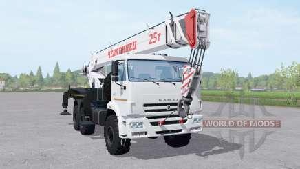 КамАЗ 43118-46 автокран для Farming Simulator 2017