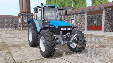 New Holland TM150 vivid blue для Farming Simulator 2017