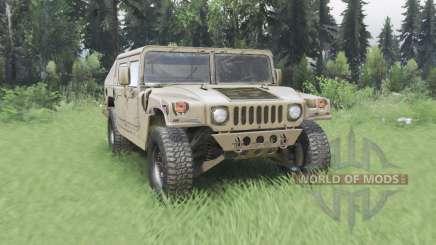Hummer H1 military для Spin Tires