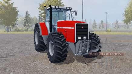 Massey Ferguson 8140 interactive control для Farming Simulator 2013