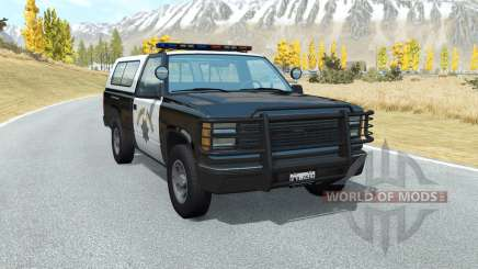 Gavril D-Series California Highway Patrol v1.5 для BeamNG Drive