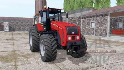 Беларус 3522 ярко-красный для Farming Simulator 2017