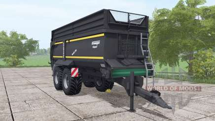 Krampe Bandit 750 schwarzer для Farming Simulator 2017