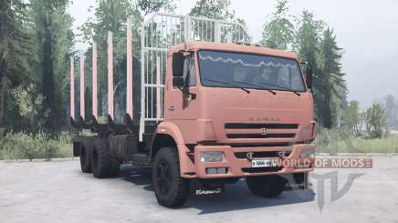 КамАЗ 45143 для MudRunner