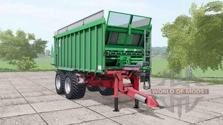 Kroger Agroliner TAW 20 green для Farming Simulator 2017
