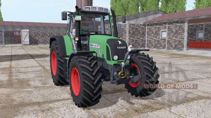 Fendt 820 Vario TMS lime green для Farming Simulator 2017