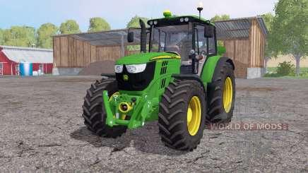 John Deere 6125M interactive control для Farming Simulator 2015