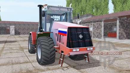 Кировец К-744Р3 ярко-красный для Farming Simulator 2017