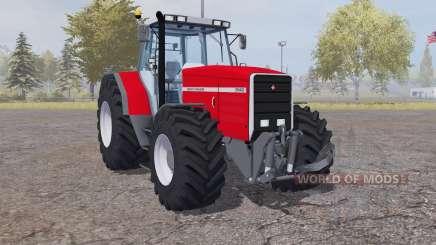 Massey Ferguson 8140 strong red для Farming Simulator 2013