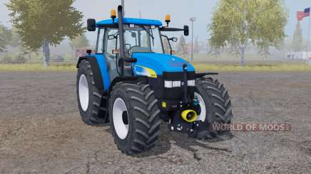 New Holland TM 175 vivid blue для Farming Simulator 2013