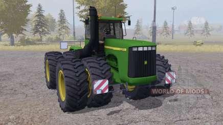 John Deere 9400 twin wheels для Farming Simulator 2013