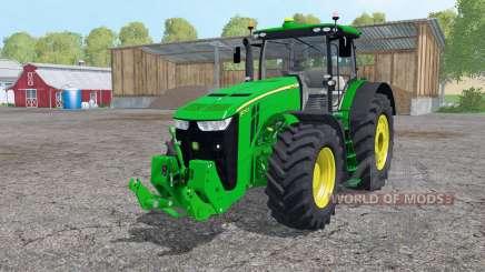 John Deere 8370R interactive control для Farming Simulator 2015