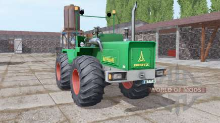 Deutz D 160 06 1972 для Farming Simulator 2017