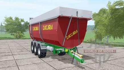 Zaccaria ZAM 200 DP8 Super Plus v1.4 для Farming Simulator 2017