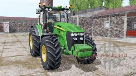 John Deere 7730 full washable для Farming Simulator 2017