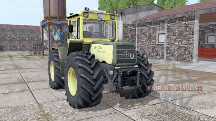 Mercedes-Benz Trac 1500 Turbo v2.0 для Farming Simulator 2017